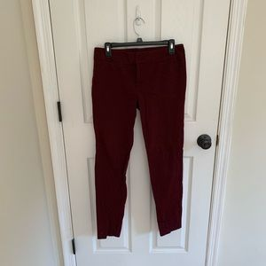 Skinny jean work pants